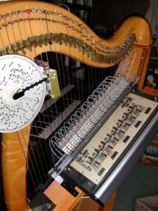 自動ハープ演奏機